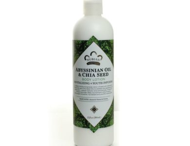 Abyssinian Oil & Chia Seed Lotion