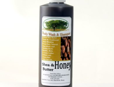 African Dudu-Shea Honey Soap