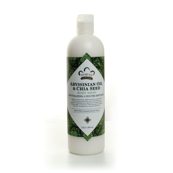 Abyssinian Oil & Chia Seed Body Wash