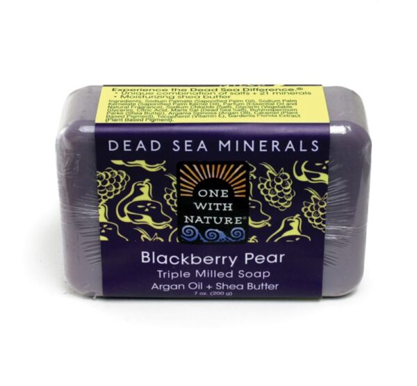 Blackberry Pear Shea/Argan Soap