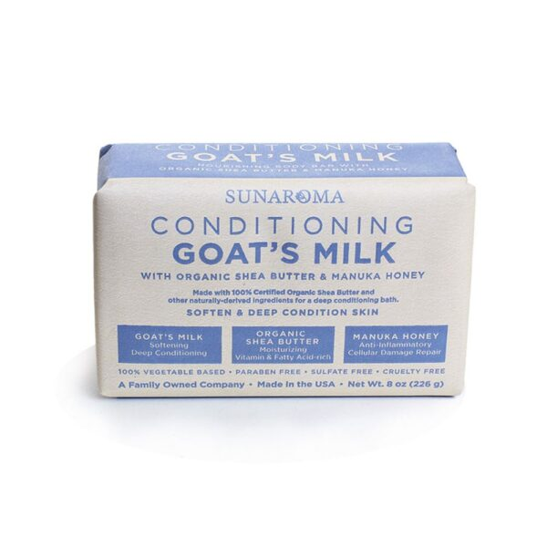 Conditioning Goat?s Milk Soap