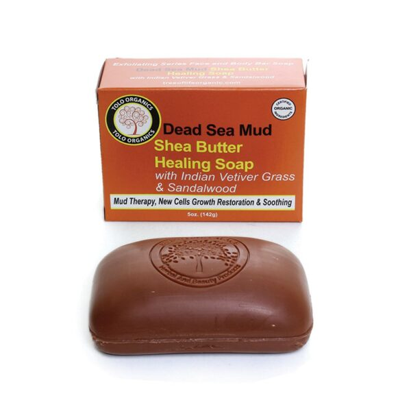 Dead Sea Mud Shea Butter Soap