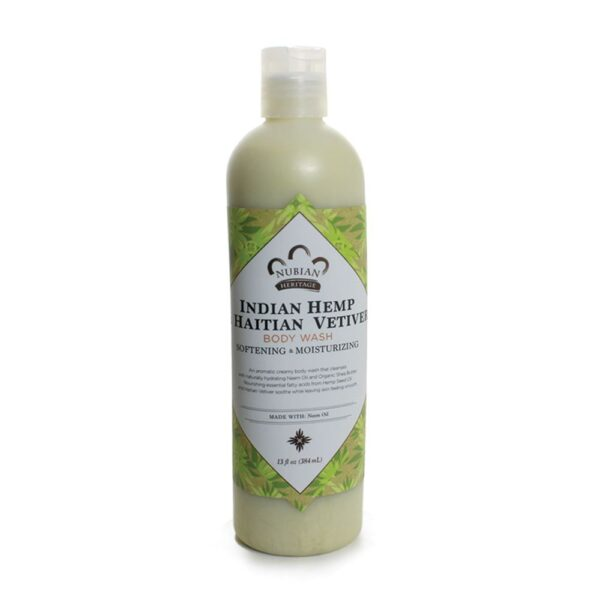 Indian Hemp and Haitian Vetiver Body Wash