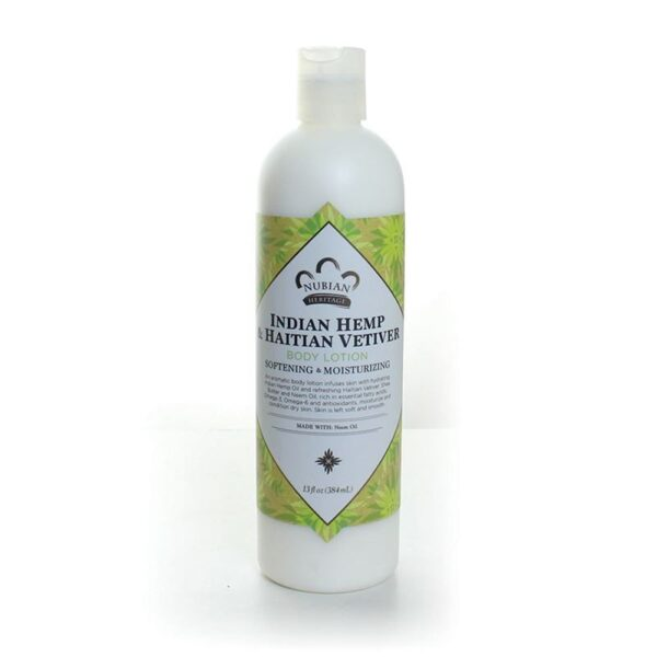 Indian Hemp and Haitian Vetiver Lotion