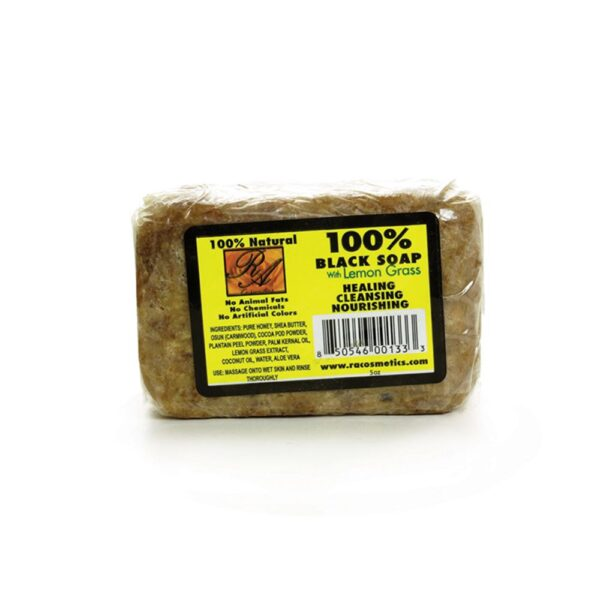 Lemongrass Black Soap