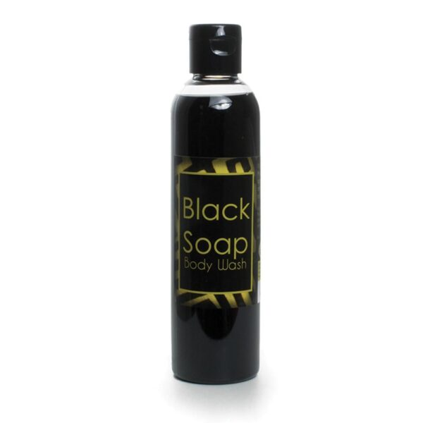 Liquid Black Soap and Body Wash