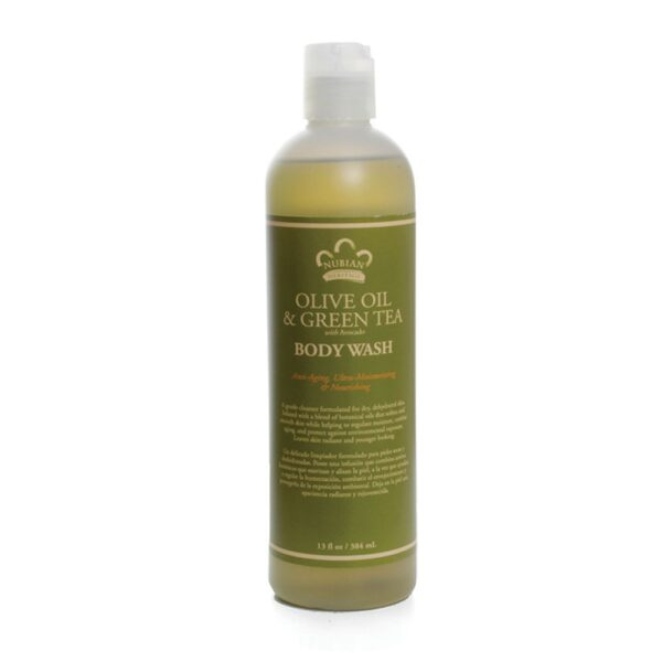 Olive and Green Tea with Avocado Body Wash