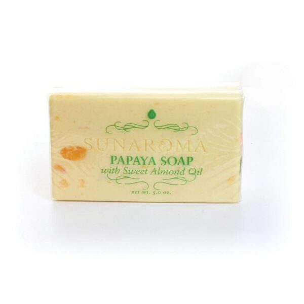 Papaya Soap with Sweet Almond Oil