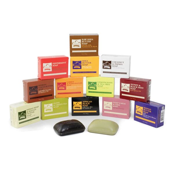 Fourteen Nubian Heritage Soaps and Save!